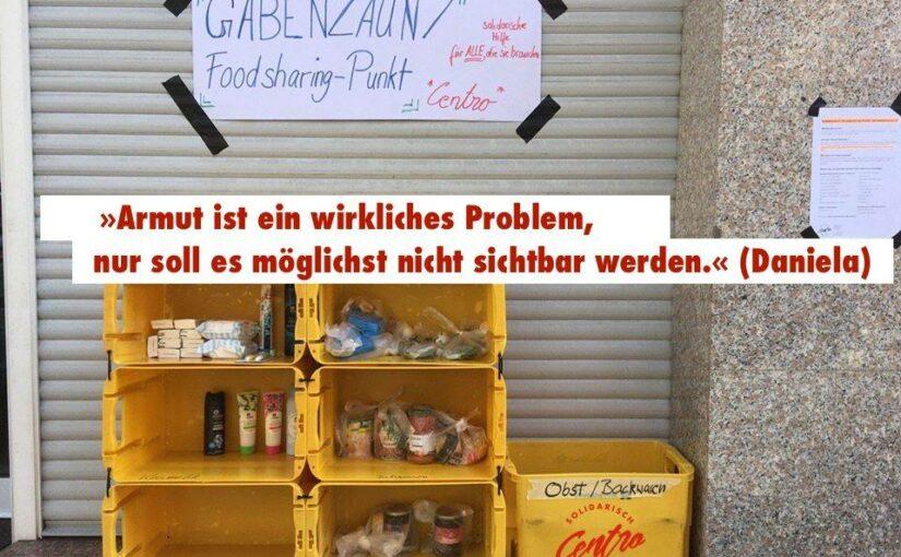 Gabenzäune: (k)ein geeignetes Mittel zur Unterstützung hilfbedürftiger Menschen?